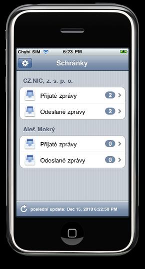 iDatovka Screenshot